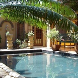 Guest house with a pool in pretoria