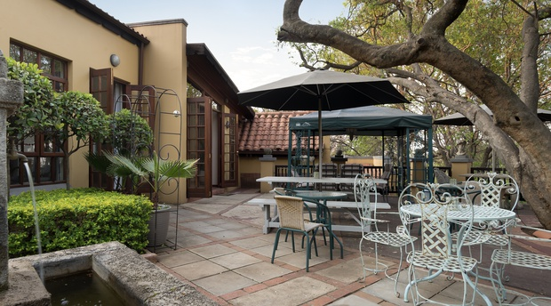 Mont dor Bohemian House Pretoria Garden Terrace Venue for Dining and Functions