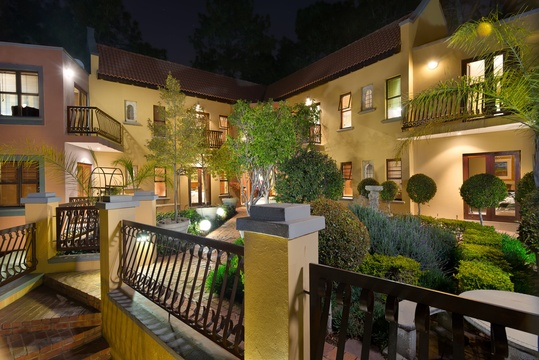 Bohemian House boutique luxury guest house accommodation in Waterkloof Pretoria